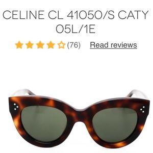 1b36703720 Celine Accessories - Celine CL 41050 s Caty in brown tortoise